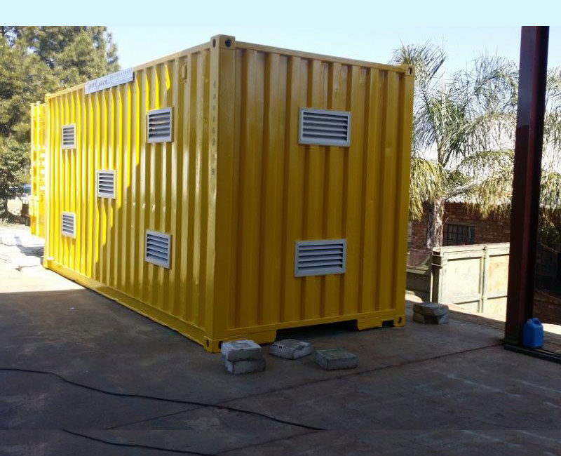 Chemical Storage Container, Steel Container, Industrial Container